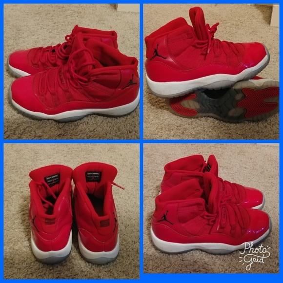 best value fcd0c f5e90 Kids Air Jordan Retro 11 Red